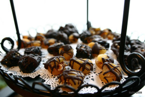 chocolate covered fruit desserts